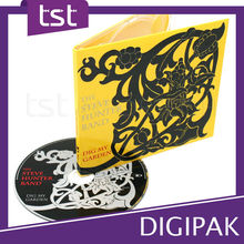 Terrific Plastic Tray CD / DVD Case Packaging & Printing