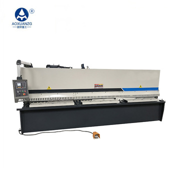 Ma'anshan hydraulic shearing machine original factory,QC12K-4*3200 sheet metal cnc shearing machine