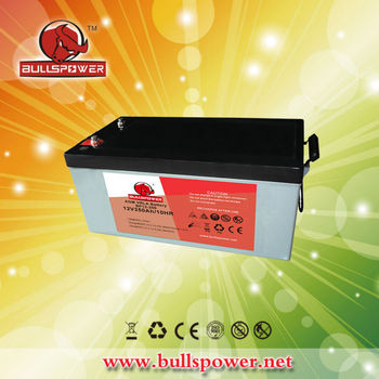 ups AGM battery back up 12v 250ah vrla ups sealed lead acid battery