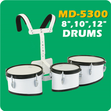 Bass Jinbao Triple Marching Drums 3 Toms