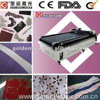 Knitting Fabrics Laser Cutting System with Auto Feed