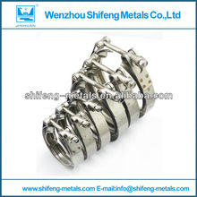 stainless steel exhaust spring clamp