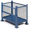 Rhino stackable mesh wire steel pallets