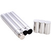 2oz Exquisite Food Grade stainless steel cigar holder cigar tube hip flask