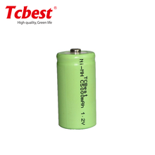 1.2V NiMH Nickel Metal Hydride Industrial rechargeable batteries C size 4000mAh/5000mAh/