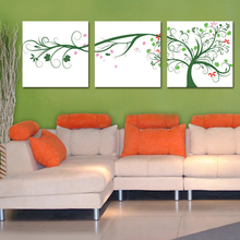 Beautiful decoration wall birds flying natural scenery painting