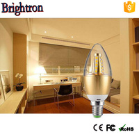New design led candle light bulb ce rohs approval 3w candle bulb light
