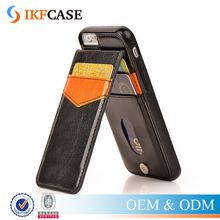 For iPhone 6s Protective Wallet cover shockproof Leather case with Credit Card Slot Holder