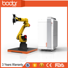 USa IPG 500w 6axis Automatically cnc Fiber Laser Cutting robot japan fanuc