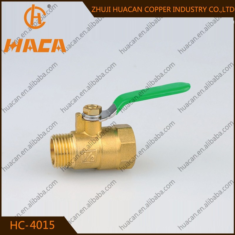 Big ball valve !Female male threaded ball vale