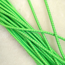 YQ-RE27 Eco-friendly colorful stretchy elastic string cord elastic string for shoelace