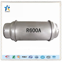 high quality refrigerant gas r600a with 99.9% purity