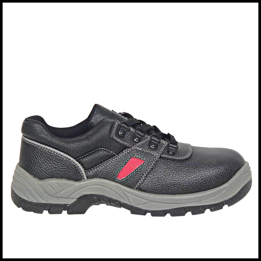 Hot sale safety Lightweight Genuine Leather Sports Work shoes