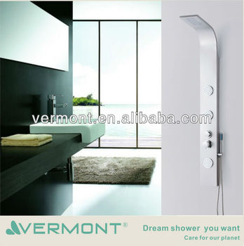 bathroom shower panel system