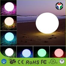 Hot Sale Outdoor And Indoor Waterproof Remote Control Floating Night Light 20CM/25CM/30CM/40CM/50CM/60CM Led Ball