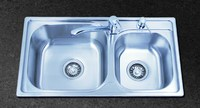 small double kitchen sink -HQ-1P07Xt