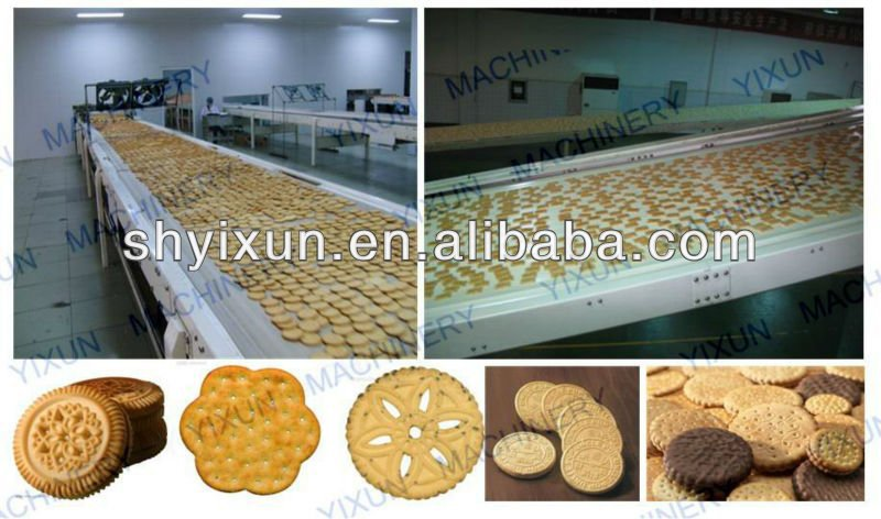 YX480 Complete Automatic Biscuit Production Line in China