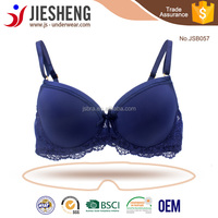 Wholesale Blue Color Sexy Triumph Lace Bra