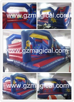 High quality minion inflatable bouncer / inflatable bouncy castle