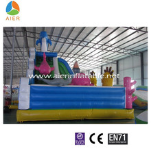 Hot sale kids fun city,Ocean inflatable playground,giant inflatable funland