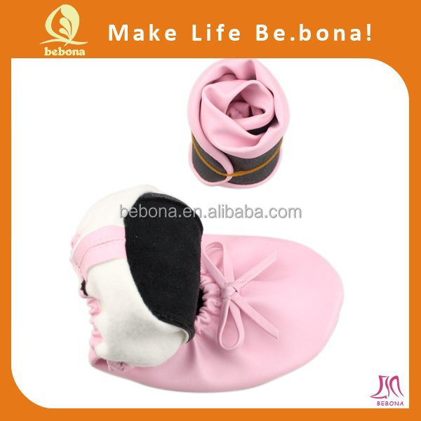 New Design Ballerina Ladies Folding Shoes