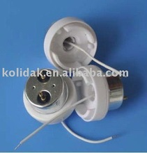 Magnetic white PC LH - T10-09 lamp holder