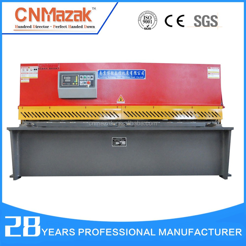 <strong>Q11</strong> Shearing Machine Guillotine Hydraulic Shear Blade