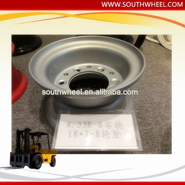 4.33R-8 Rims electric forklift driving wheels