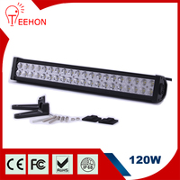 "Popular dual rows 12v 22"" 120w ip67 LED lighting bar for off road vehicle"