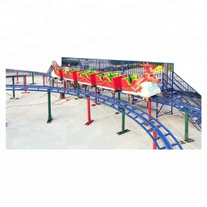 thrill family rides /carnival game amusement park equipment / backyard slide dragon roller coasters for kids and adult