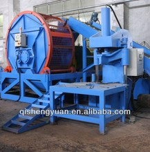 Automatic waste tire recycling line rubber slippers making machine