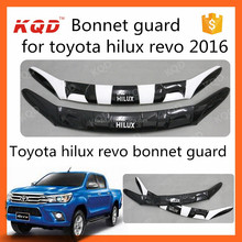 bonnet guard/protector for toyota hilux body parts bonnet guard toyota hilux body kit 2016 toyota hilux revo accessories