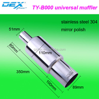 car parts universal color hks exhaust muffler pipe factory direct selling hot sale