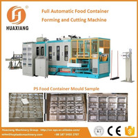 Automatic One Time Chicken Box Vacuum Forming Machine with CE