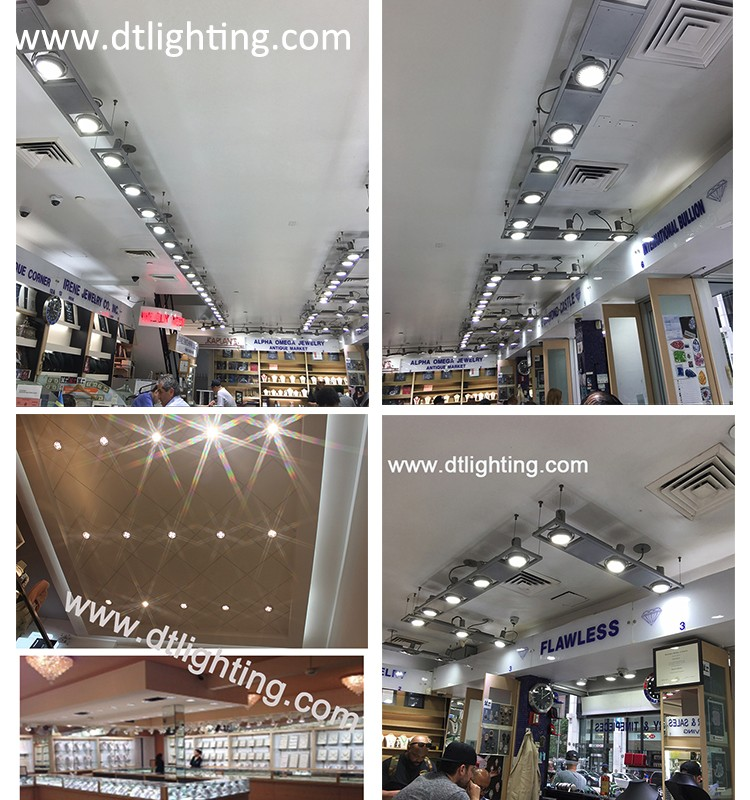 AC90-305V 277V 2017 NEW LED E26 E27 Indoor Dimmable UL PAR38 60W for Fashion Jewelry Store