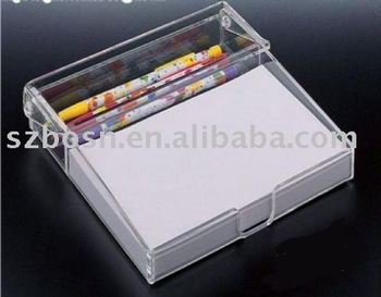 Acrylic Pad Holder,Acrylic Display Stand,Acrylic Memo Paper Rack