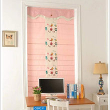 Home decor elegant fabric roman blinds and shade