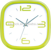 Factory Time Clock Green Wall Clock Wholesale