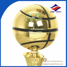 basketball shape gift trophy for games and champions