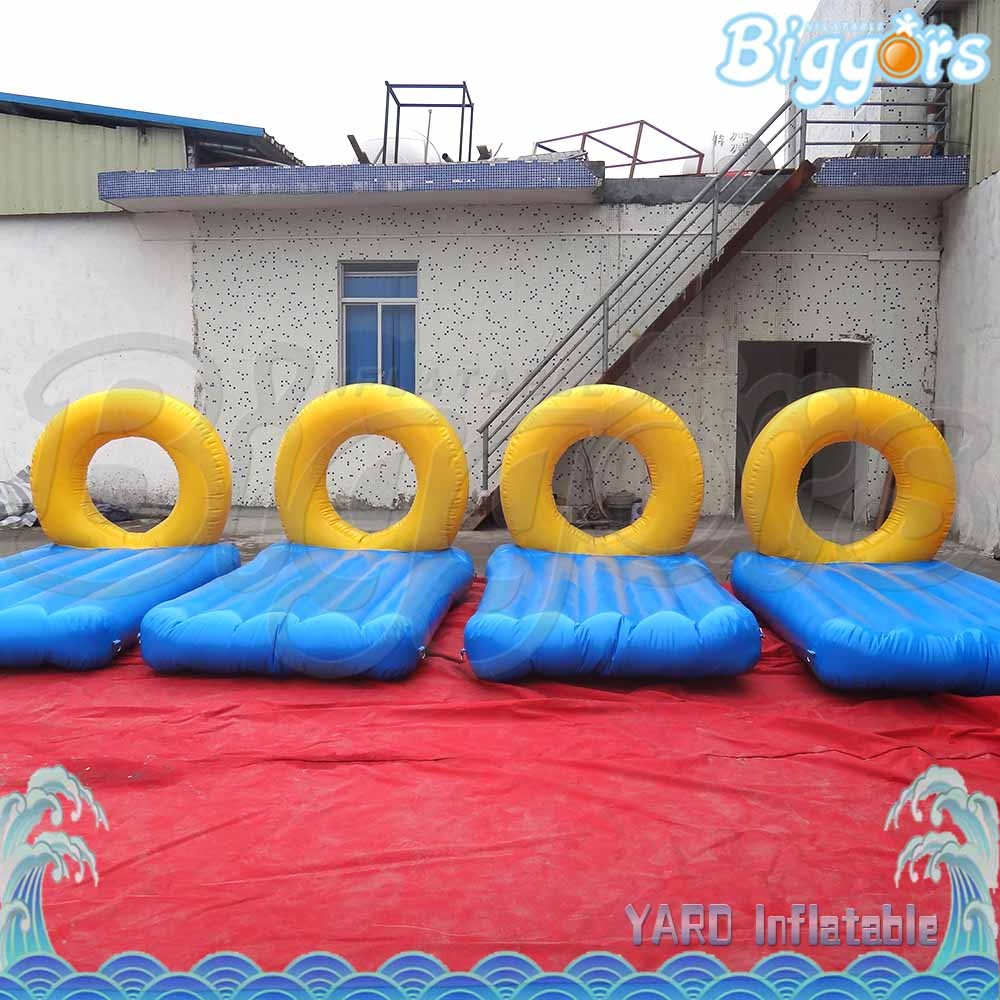 Sunbath Lake Inflatables Floating Water Games for Relaxing Time