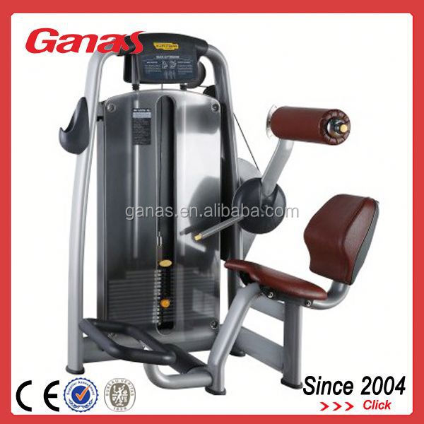 back machine exercises