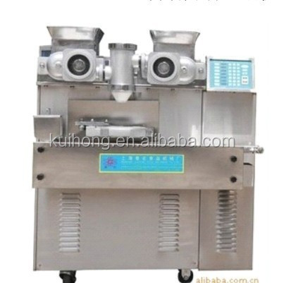10 off KH the newest automatic mooncake encrusting machine production line price for making mooncake / kubba / maamoul