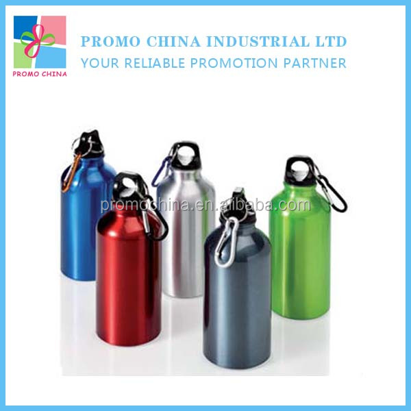 Wholesale Aluminum Carabiner Water Sport Drinking Bottle