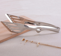 Stainless steel kitchen useful function of food tongs for different food