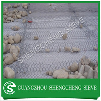 Gabion material decorative heavy duty plastic wire mesh boxes gabion mattress baskets for storage