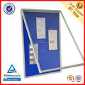 Lockable aluminum frame safety key glass display show case display cabinet