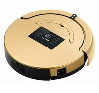 UV Sterilization Intelligent Robot Vacuum Cleaner with Mop for Wet and Dry