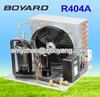 r410a seer 14 condensing unit prices for samsung refrigerator parts with R404A refrigerant compressor