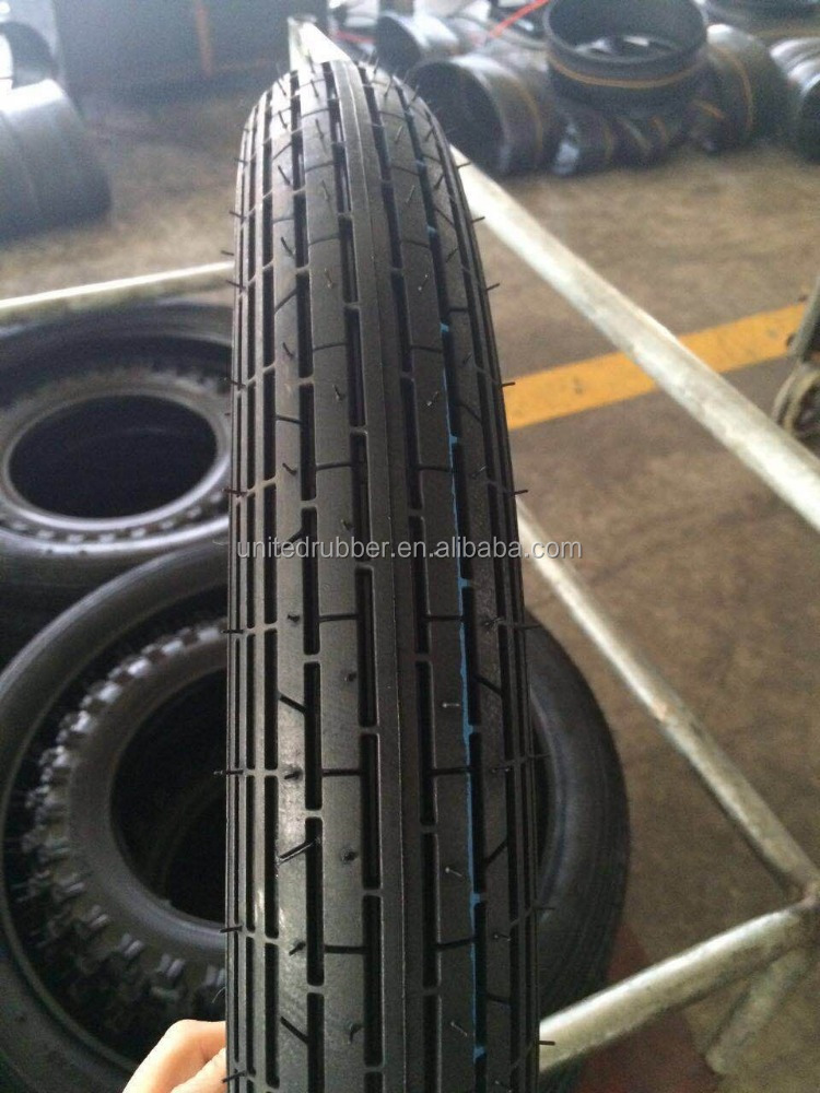 2.50-18 New Pattern Motorcycle Front Tyre For Mozambique