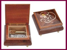 wholesale antique wooden music jewelry box